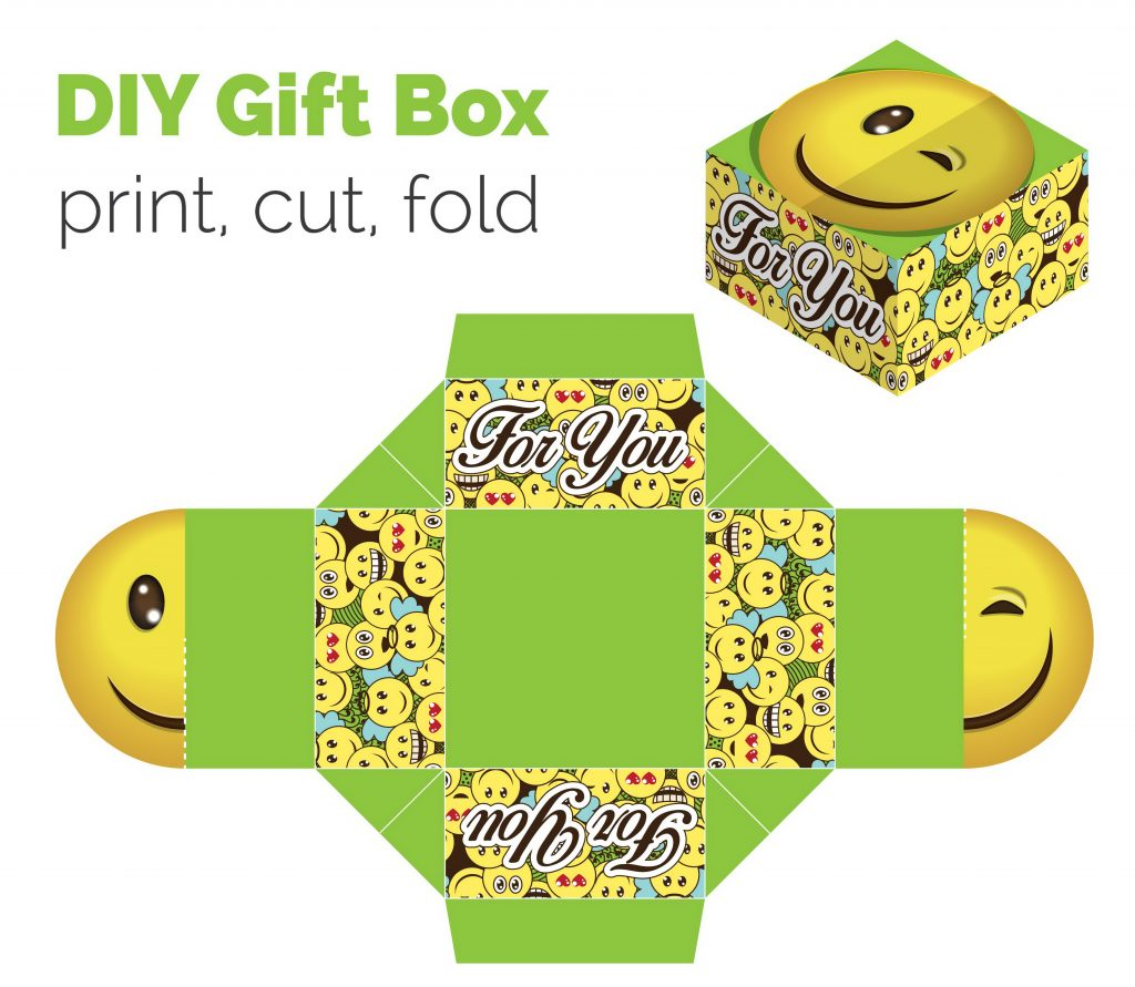 Gift Box For Tablets with Smile